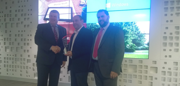 OpenSistemas  ganador del premio Open Source on Azure Partner of the Year de Microsoft
