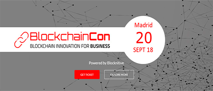 Logo Evento BlockchainCon